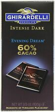 Ghirardelli Chocolate Intense Dark, Evening Dream 60% Cacao,3.5-Ounce,Pack Of 5