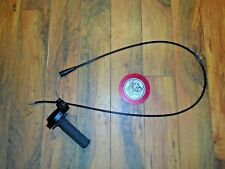 1980 - 1981 CAN-AM QUALIFIER 400 THROTTLE ASSY (INC. CABLE) MAGURA