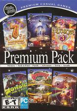 Mumbo Jumbo PREMIUM PACK 6x PC Games - Luxor, 7 Wonders, Samantha Swift, Zombie