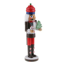 Christmas Decor Ornaments Wooden Nutcracker Figurine Puppet Doll Toy Gift A