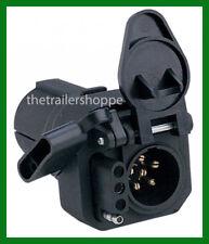 Trailer Light Adaptor Converter Plug 7 RV to 6 pole & 4 Pin