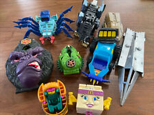 Vintage Mixed Toy Lot~Mighty Max~Zoids~Transformer~Rob otech