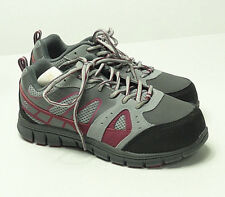 AGGRESSOR Women's Steel Toe Steel Plate Safety Sneakers Shoes Size 6.5