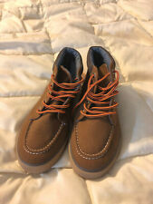 NEW YOUTH GYMBOREE BROWN BOOTS SHOES SIZE 3