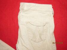 Women's Hollister Tan Stretch Jeans Size 7
