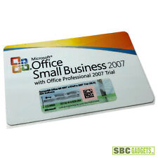 Microsoft Office Small Business 2007 with Office Pro 2007 Trial License Key