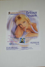 Britney Spears NBA Inside Stuff Promotional poster 2001