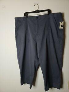 Terra & Sky Women's Wide Leg Utility Pants Gray Size 26W Plus Size
