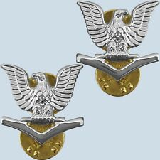 US Navy Collar Insignia E-4 Petty Officer 3rd Class