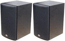 NEW (2) MTX Bookshelf Speakers.Monitor Home Stereo Theater.loudspeaker.PAIR.8ohm