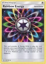 4X Rainbow Energy 137/149 Sun & Moon Uncommon PERFECT MINT! Pokemon