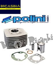 10591 - CILINDRO POLINI DM 46 ALUMINIO CROMADO MOTOBECANE 51 - 92 GT - M16
