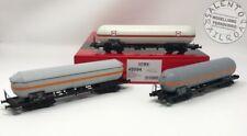 ACME 45094 set di 3 carri merci cisterna FS trasporto prodotti chimici