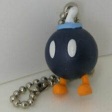 Official New Super Mario Bros Wii Swing Key Ring Bob-omb Keychain figure