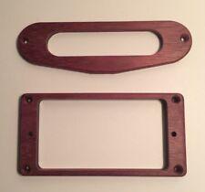 Guilford Purpleheart Flat H/T Humbucker Tele Pickup Ring Set - USA