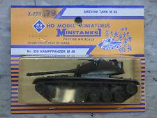 Roco Minitanks / Herpa (NEW) Modern M-48 Medium  Main Battle Tank Lot #870K