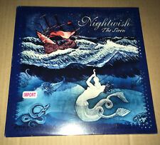 NIGHTWISH the Siren w/ 3 RARE LIVE TRX LTD 10 INCH LP Vinyl SEALED MEGADETH TRK