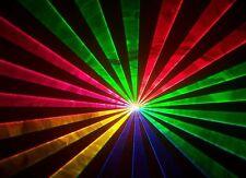 Willi Pro UK Full Colour RGB Laser Light  disco DJ red green blue stage lazor