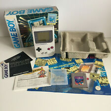 Boxed Original Nintendo Gameboy DMG Handheld Console Grey with Tetris