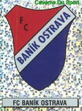 022 BADGE SCUDETTO FC.BANIK OSTRAVA REP.CZECH STICKER CESKY FOTBAL 1997 PANINI