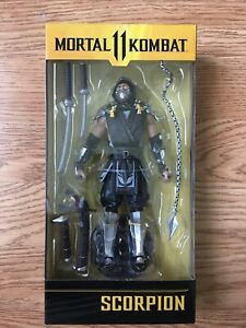 MCFARLANE TOYS MORTAL KOMBAT SCORPION (IN THE SHADOWS VARIANT) ACTION FIGURE NEW