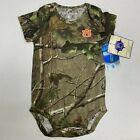 NWT 6-9 mo Auburn Tigers Creeper Romper Infant Baby Toddler Shirt Camo Realtree