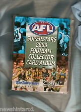 #T13. AFL  2003 FOOTBALL CARD ALBUM, ADELAIDE ADVERTISER / SUNDAY MAIL
