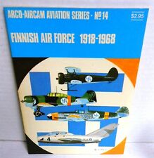 BOOK WW2 Aircam Aviation Series #l14 Finnish Air Force 1918-1968