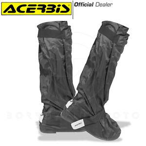 ACERBIS Rain 4.0 Overboots Anti Shower Motorcycle Scooter Black Waterproof Mens