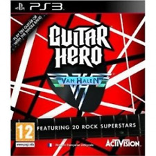 Guitar Hero Van Halen Solus Game PS3 - Brand New!