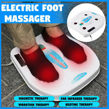 Far Infrared Foot Massager Vibration Magnetic Heating Therapy Health Machine