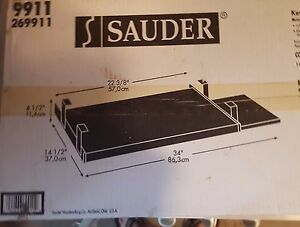 Sauder 9911 Keyboard Shelf Black