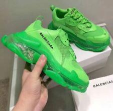 Men's Triple S Neon Green Shoe Sneakers