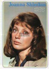 JOANNA SHIMKUS / CHARLTON HESTON DAVID JANSSEN 1973 Japan Picture Clipping md/p
