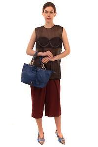 RRP €120 U.S.POLO ASSN. Tote Bag Logo & Tassel Details Zipped Slouchy Design