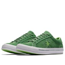 ad6bf671542b Converse One Star Pinstripe Ox Size 10 Mint Green Lime Suede 159816C