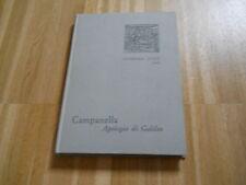 APOLOGIA DI GALILEO - CAMPANELLA - STRENNA UTET 1969 - (142 BIS  )