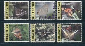 Tonga - Niuafo'ou #CE6-11 (2015 Butterfly Special delivery set) VFMNH CV $325.00