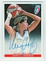 2008 WNBA Authentic Autograph Nancy Lieberman Phoenix Mercury All Time Great HOF
