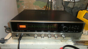 SANSUI SOLID STATE 350 STEREO TUNER AMPLIFIER - BENCH CHECKED,SERVICED,TESTED