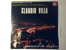 CLAUDIO VILLA Souvenir de Naples lp