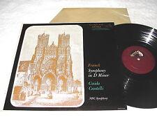 "Cantelli/NBC Symphony ""Franck: Symphony in D Minor"" 1950's LP,Nice NM-!, LM-1852"