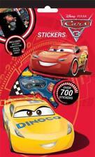 Disney Cars 3 Lot de 700 Autocollants 9 feuilles TV Lightning McQueen Sac De Fête