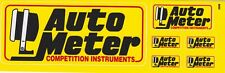 AUTO METER COMPETITION INSTRUMENTS STICKER Hot Rod DECAL Nascar NHRA RACING CAR