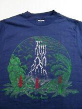 "Vintage Kauai Hawaii ""Garden Isle"" Oldest Island Vacation Souvenir T Shirt Sz S"