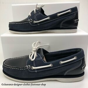 Timberland Classic Womens Boat Shoe Classic Navy 2 Eye FREE 48hr DEL RRP £100