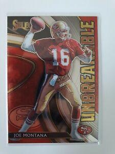Joe Montana - San Francisco 49ers - Select 2020 Insert Unbreakable #U7