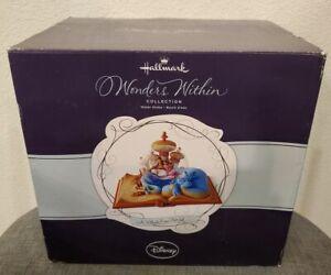 Disney Aladdin Water Snowglobe A Whole New World Globe Hallmark Wonders Within !