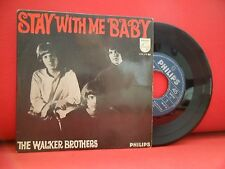 THE WALKER BROTHERS Stay With Me 7/45 EP RARE PORTUGAL UNIQUE SLEEVE PHILIPHS
