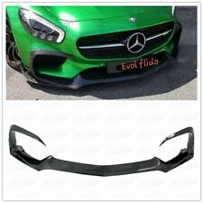 AMG GT GTS Carbon Fiber Front Lip Body Kit For Mercedes Benz